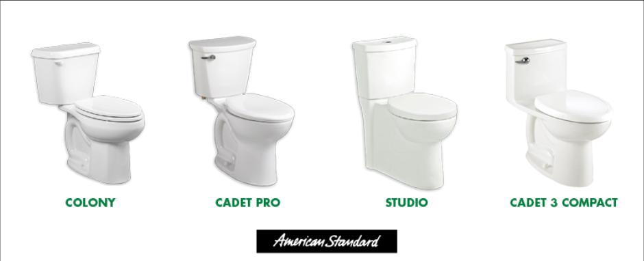 Toilet Installation Service, American Standard, Toto & Contrac ...